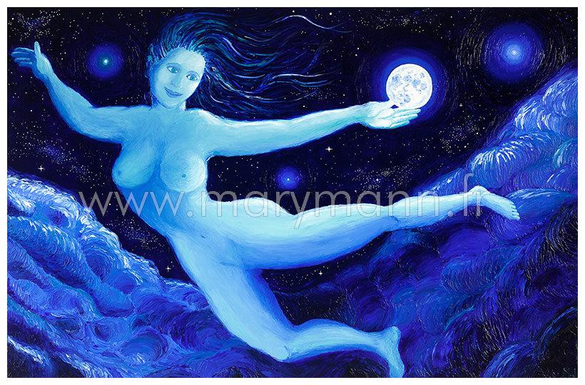 Danseuse cosmique